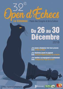 tournoi au mans du 26 au 30 décembre 2018 Affichemini